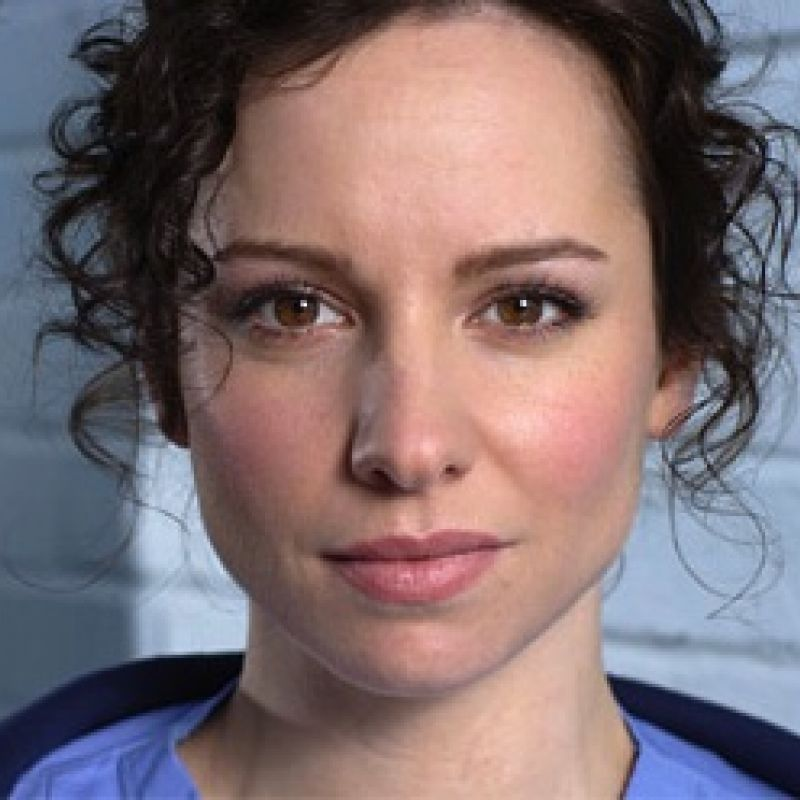 Lucy Gaskell stars in Casualty as Kirsty