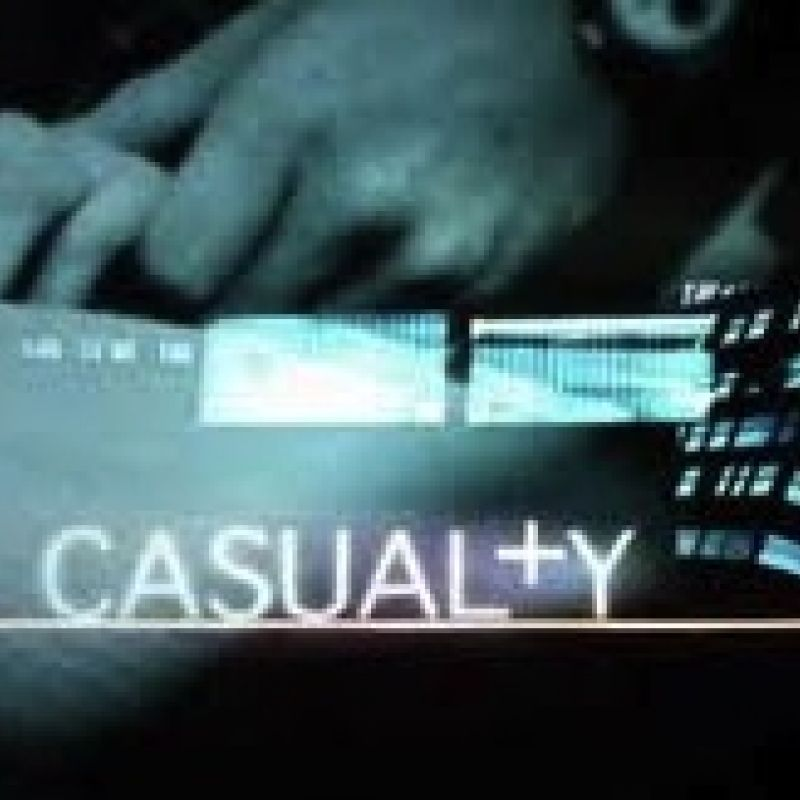 Vicky Hall guests in Casualty