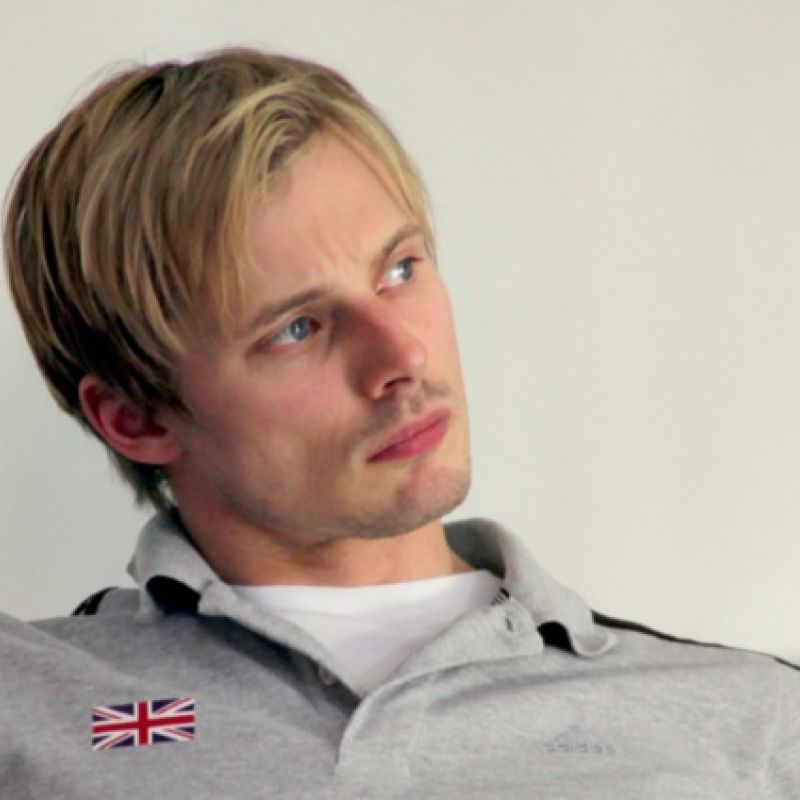 Bradley James stars in new film: Fast Girls