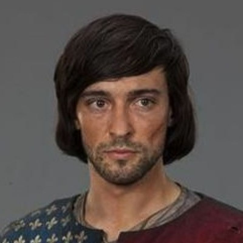 Blake Ritson in the new series of World without End