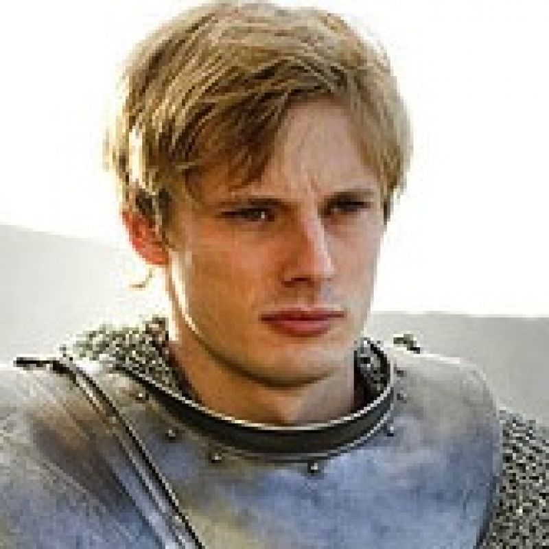Bradley James stars in Merlin