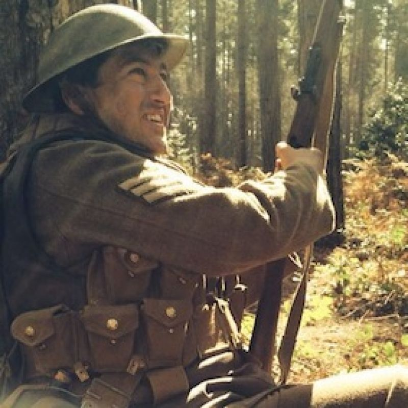 Paul Popplewell in Our World War