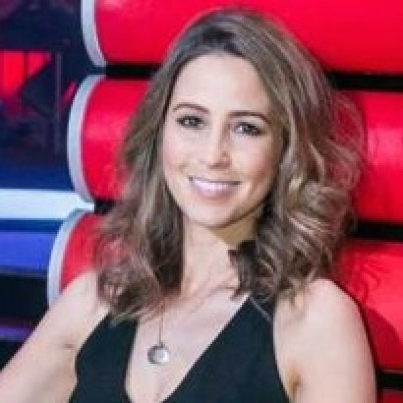 Rachel Stevens judges The Voice Ireland