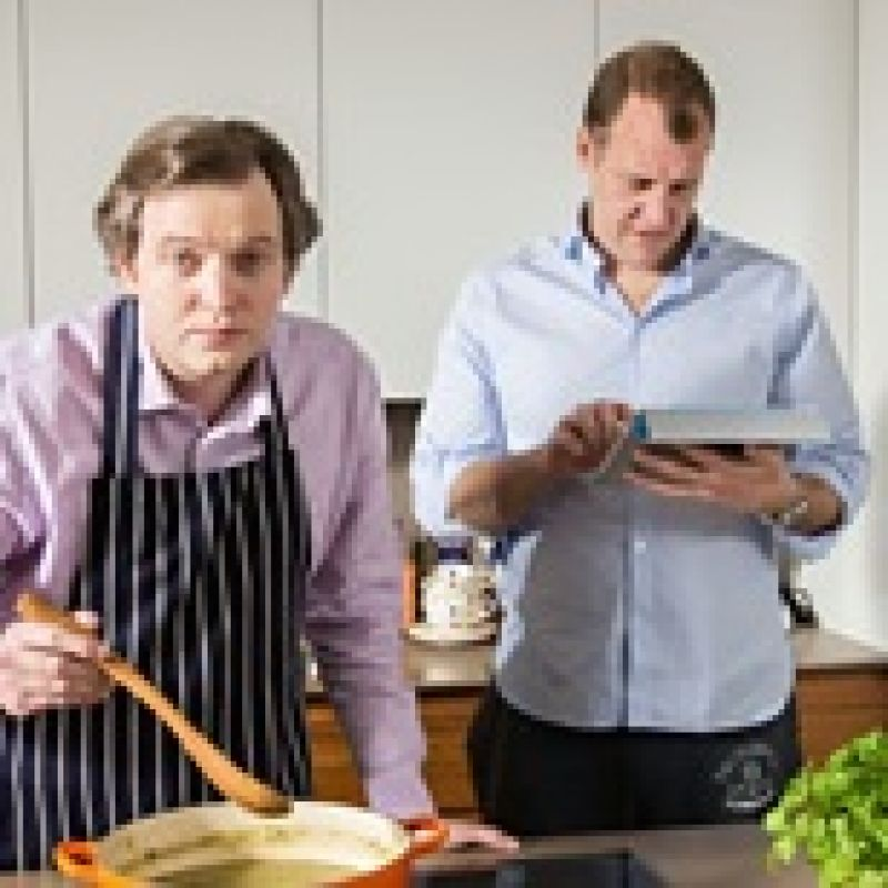 In and Out of the Kitchen: Miles Jupp & Justin Edwards