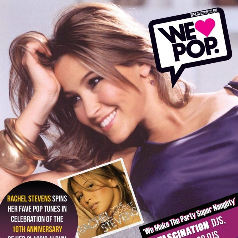 Rachel Stevens to DJ at We Love Pop