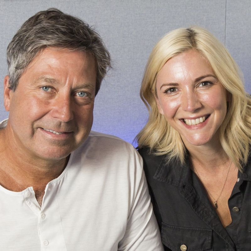 Lisa Faulkner hosts on Magic FM