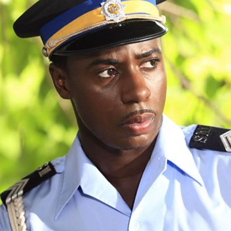 Gary Carr in Death in Paradise