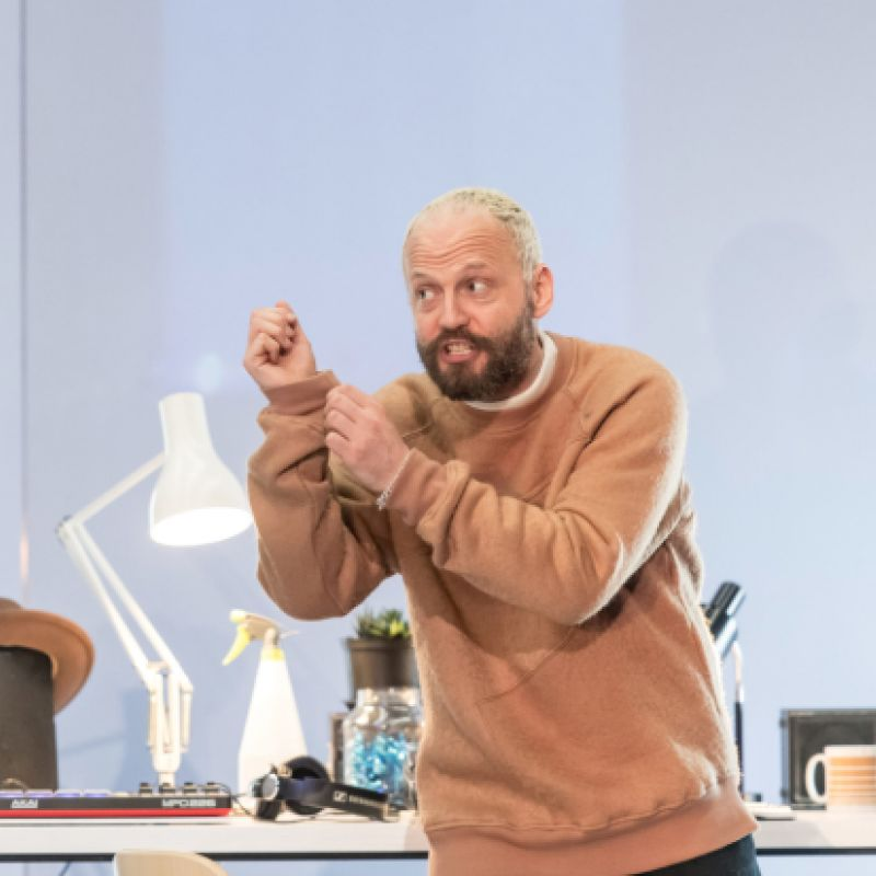 Alex Beckett in Pygmalion