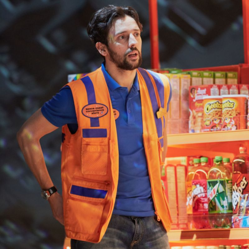 Ralf Little in Ugly Lies The Bone