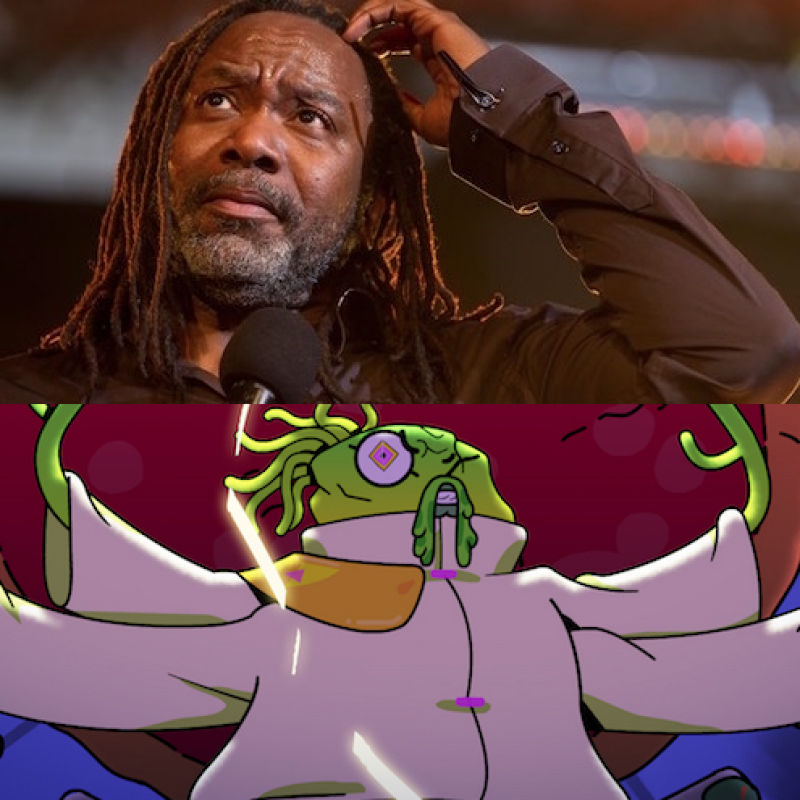 Reginald D. Hunter in Counterfeit Cat