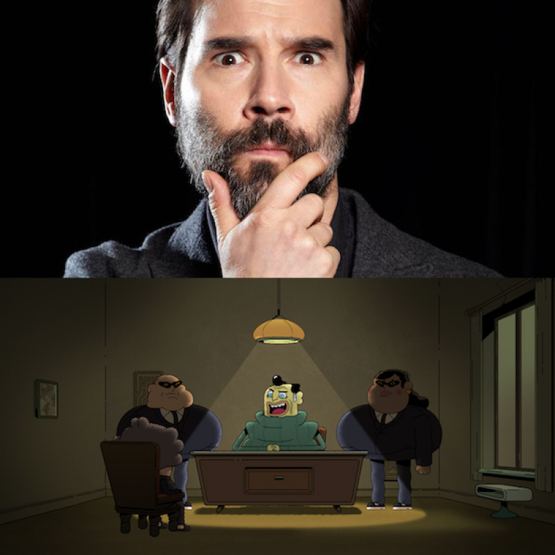 Adam Buxton in Counterfeit Cat