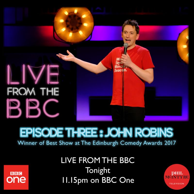John Robins - Live from the BBC