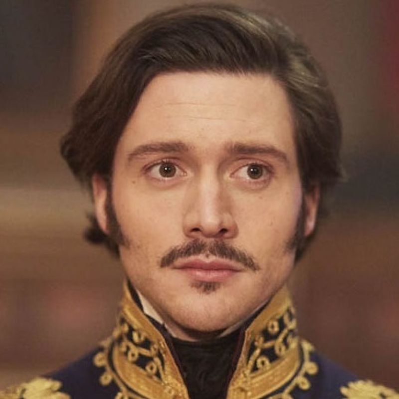 David Oakes plays the charming Duke of Coburg in Victoria