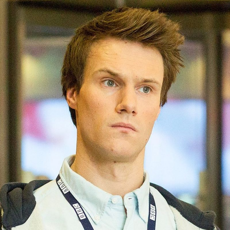 Hugh Skinner is Will Humpries in W1A