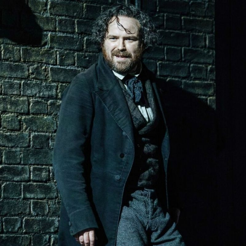 Rory Kinnear stars as Young Marx at the new Bridge Theatre