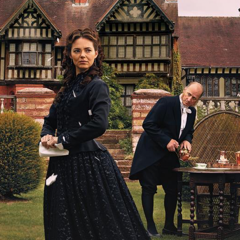 Kara Tointon is Olivia in Twelfth Night
