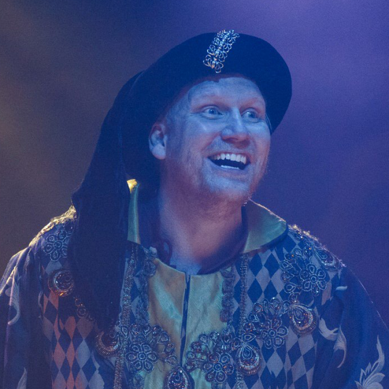 Last Chance to see Simon Nock in King Arthur