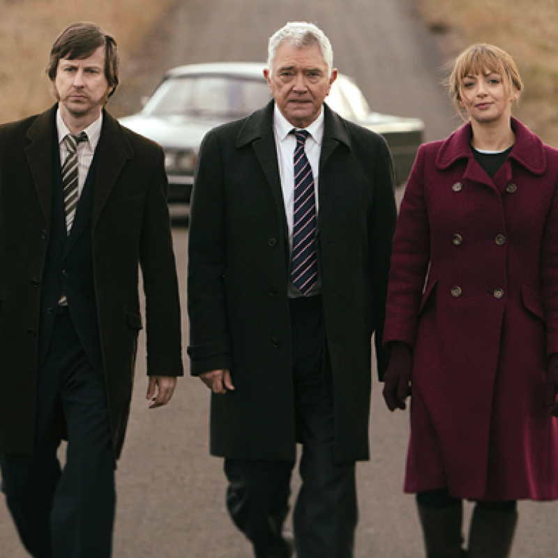 Lisa McGrillis in the last episode of Inspector George Gently