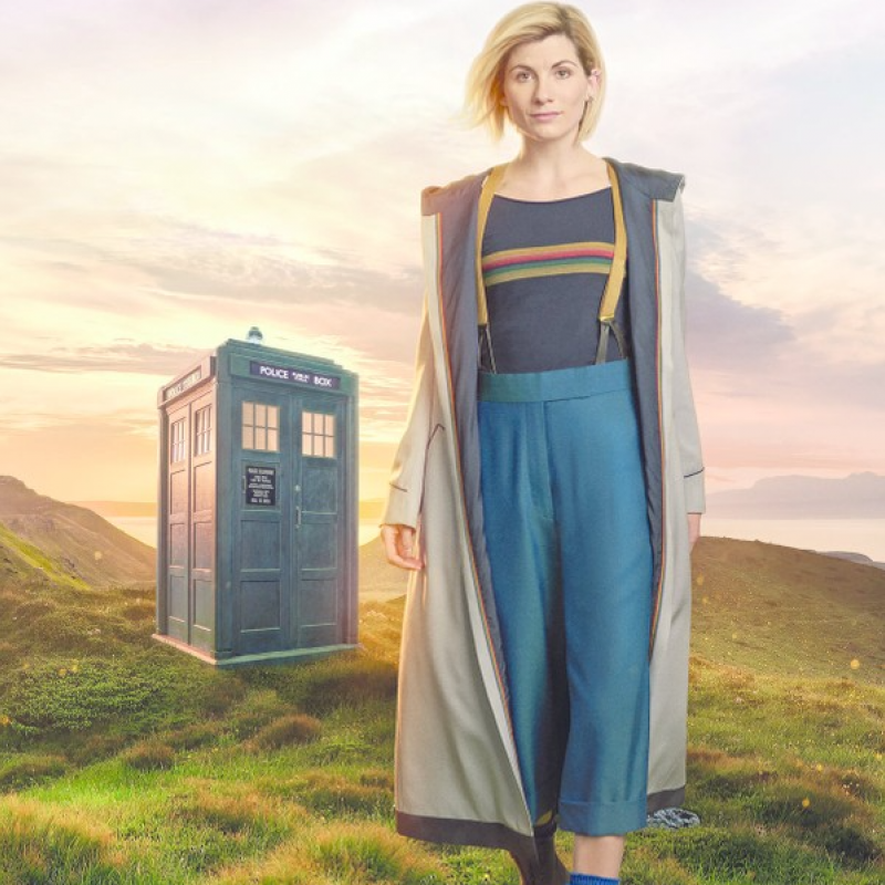 New Look for the 13th Doctor!