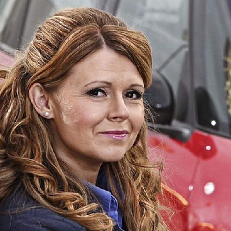 Sian Gibson stars in Peter Kay's Car Share Unscripted