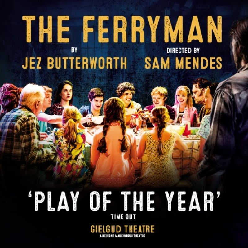 Justin Edwards stars in The Ferryman
