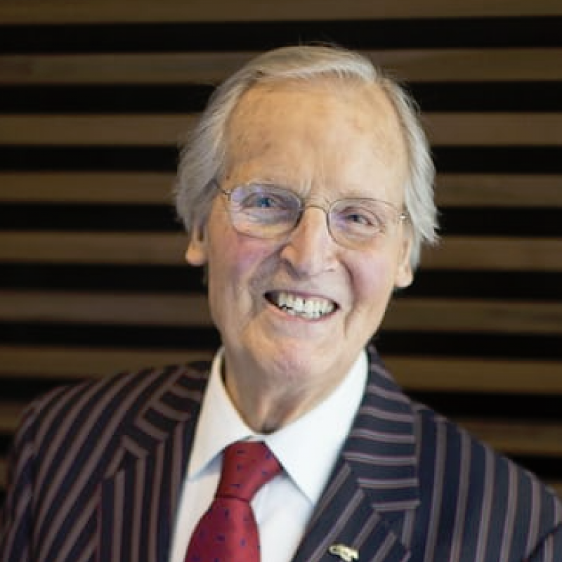Nicholas Parsons: 'I irritated my family because they didn't like showoffs'