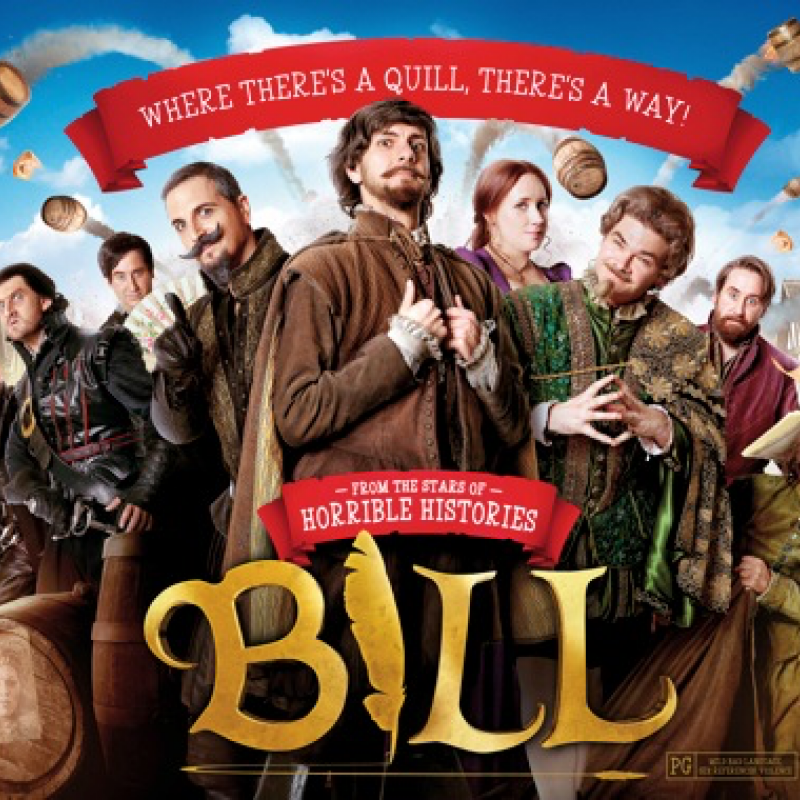 Mathew Baynton is Bill Shakespeare