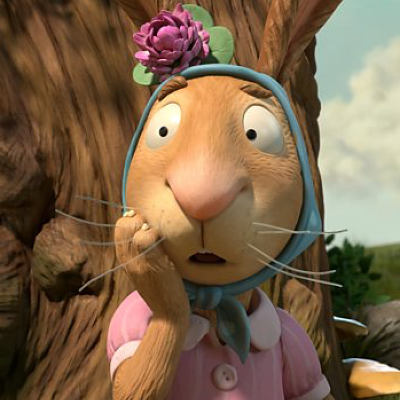 Frances de la Tour is The Rabbit.