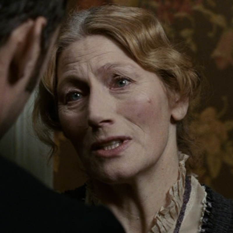 Geraldine James features as the iconic Mrs Hudson in Sherlock Holmes: A Game of Shadows.