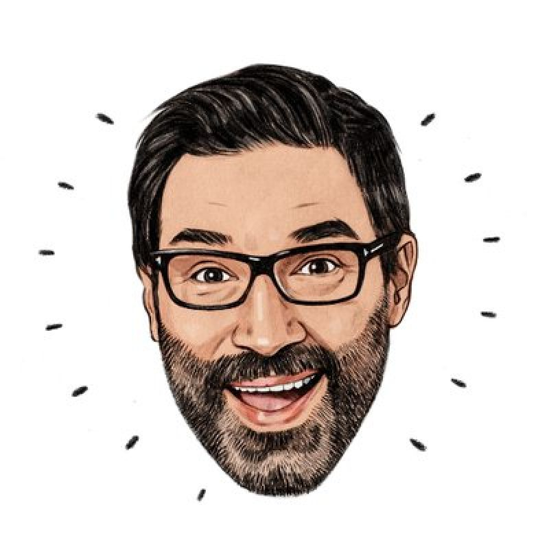 Adam Buxton in the feature animation, Sing.