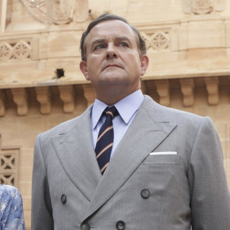 Hugh Bonneville plays Lord Mountbatten in Viceroy's House