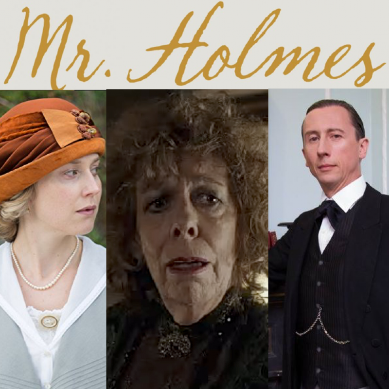 This Sunday watch Mr Holmes!