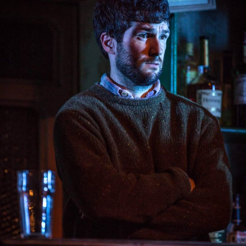 Sam O'Mahony is Brendan in 'The Weir'