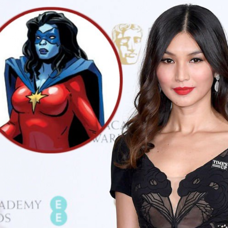Gemma Chan to star in Captain Marvel as Minn-Erva