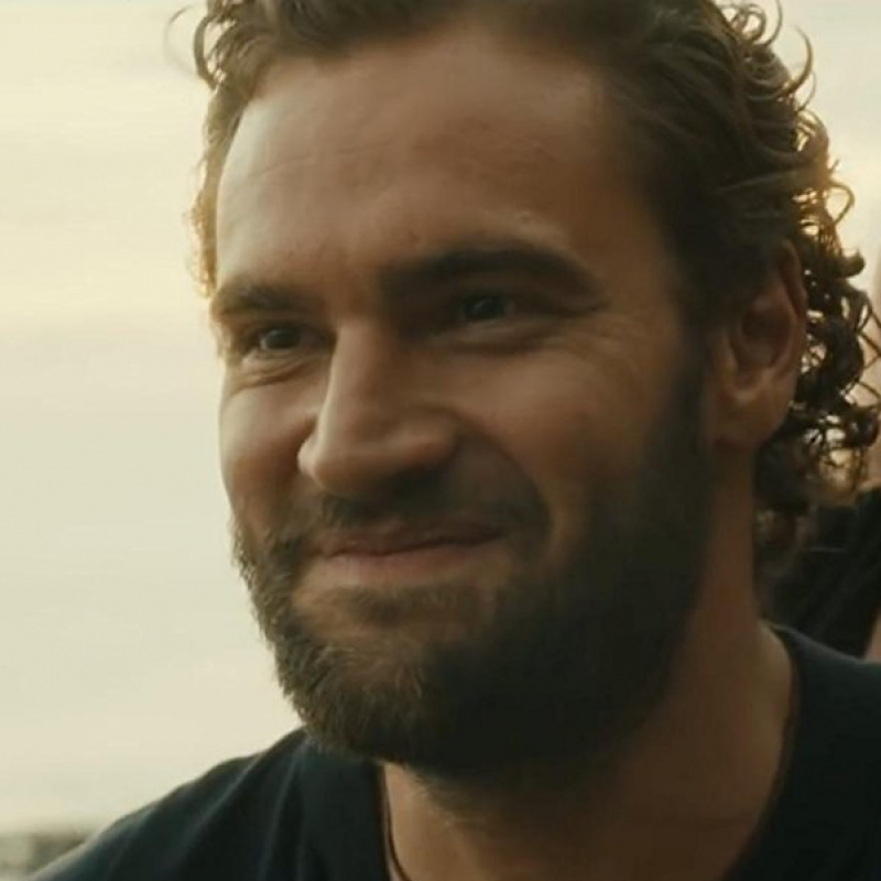 Tom Bateman stars as the hunky James in hilarious comedy Snatched