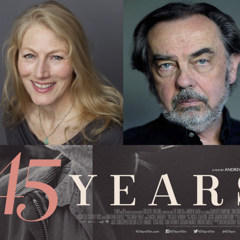 Catch Geraldine James & David Sibley in 45 Years