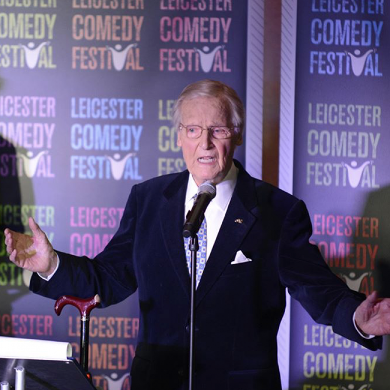 Nicholas Parsons the 'Legend of comedy'