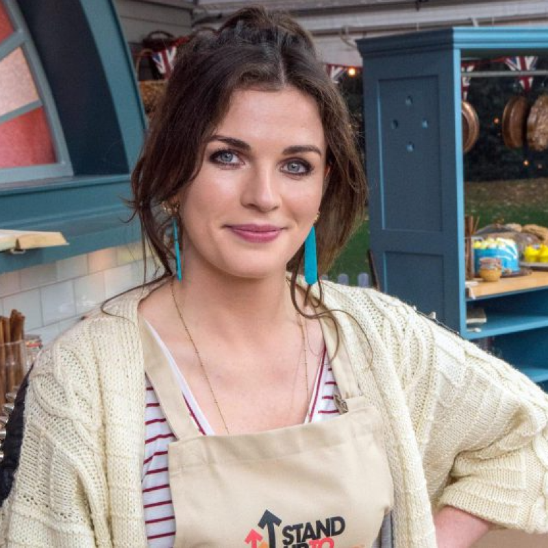 Aisling Bea stands up to cancer in The Great Celebrity Bake Off