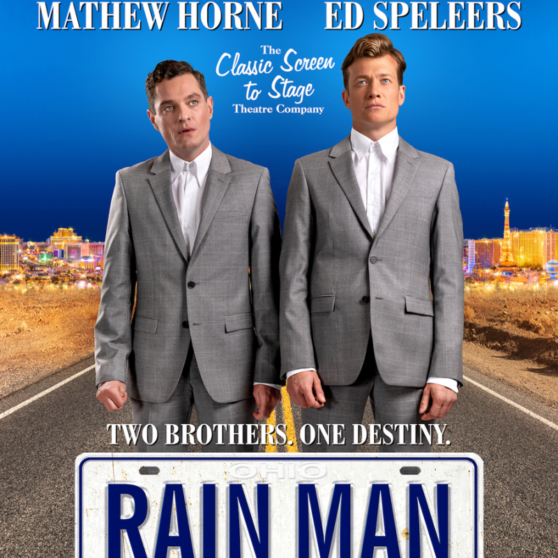 Ed Speleers & Mat Horne star in the touring production of Rain Man.