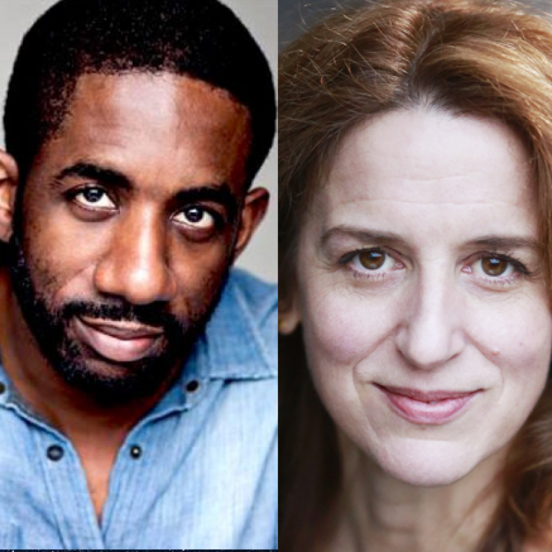 Rhashan Stone & Abigail Thaw star in The Strange Death of John Doe at Hampstead Theatre