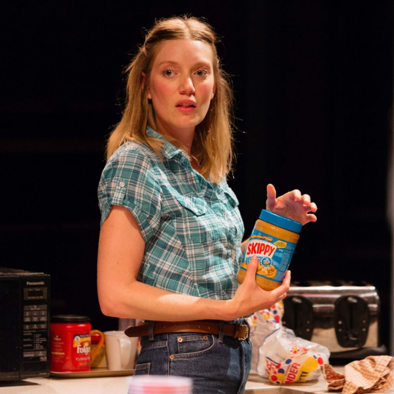 Robyn Addison stars as Amber in Utility at The Orange Tree Theatre