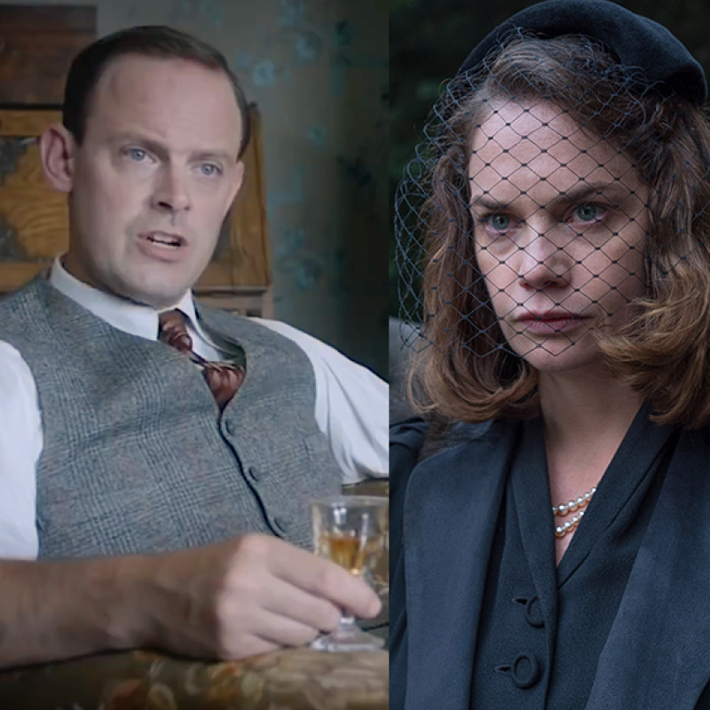 Ruth Wilson & Harry Hadden-Paton star in horror thriller The Little Stranger