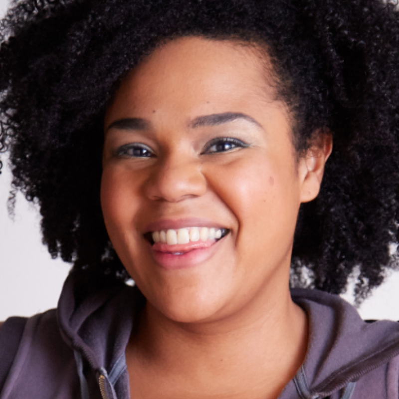Desiree Burch joins the panelists on 'Mock The Week'