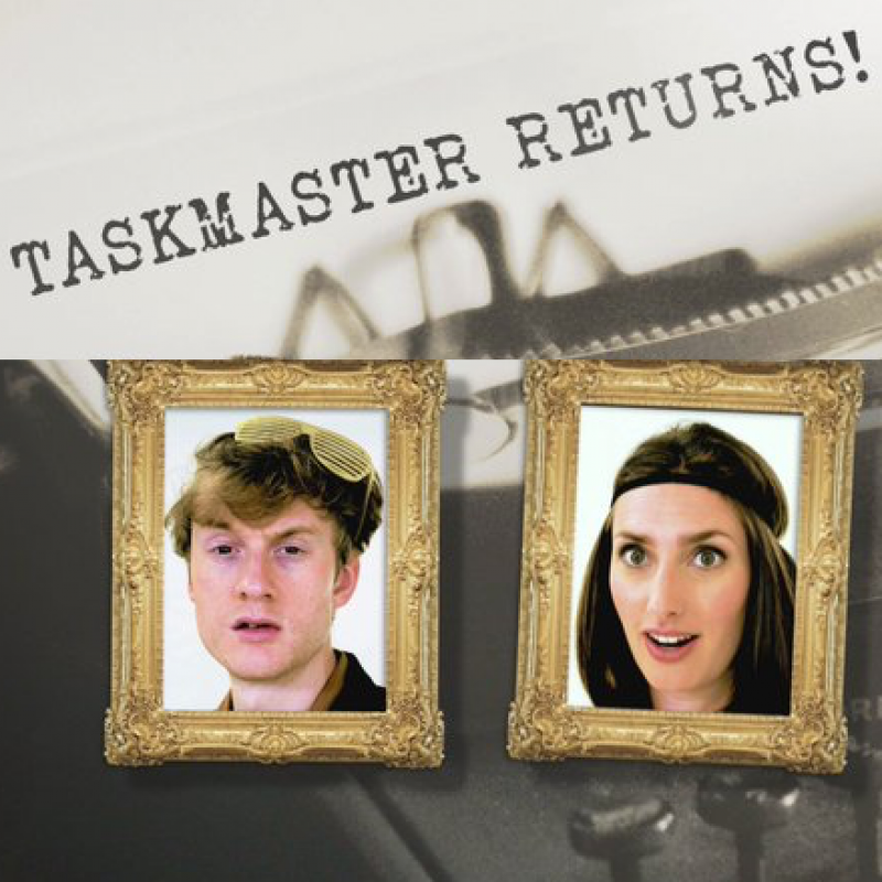 James Acaster & Jessica Knappett battle it out on Taskmaster series 7