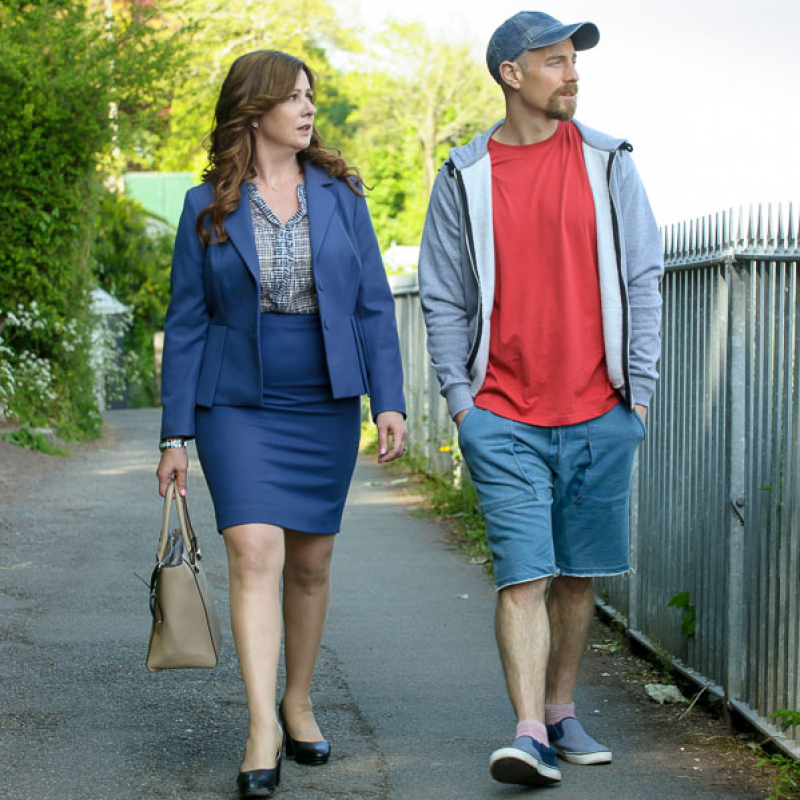 Mali Harries & Matthew Gravelle star in new Welsh drama Keeping Faith