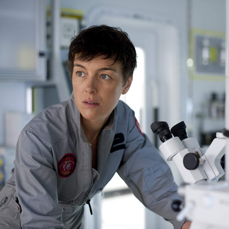 Olivia Williams stars in the dramatic horror scifi The Last Days on Mars