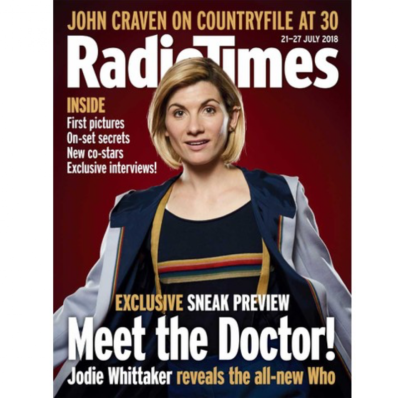 Jodie Whittaker graces the pages of Radio Times this week!