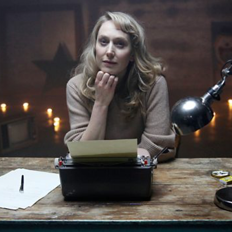 Hattie Morahan portrays Angela Carter in Angela Carter: Of Wolves And Women