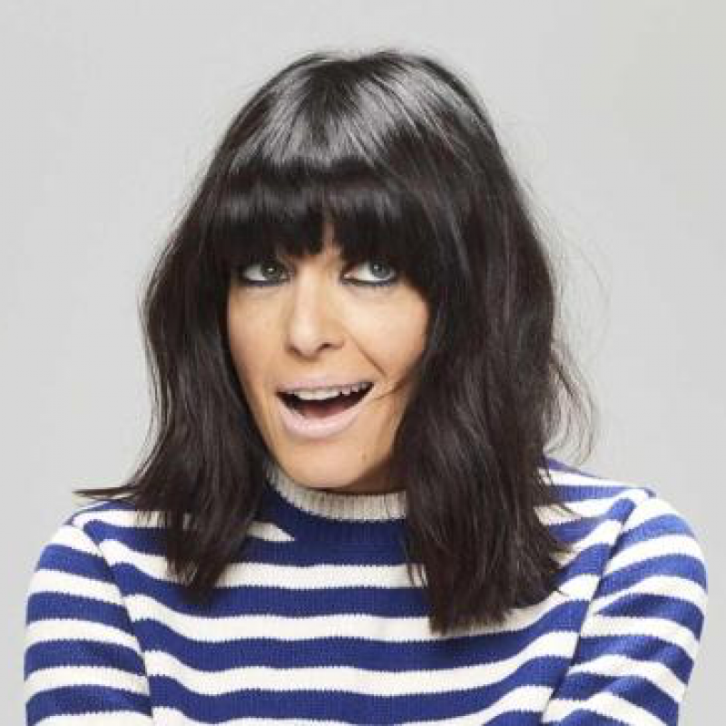 Claudia Winkleman joins the panel on Eight out of Ten Cats Does Countdown