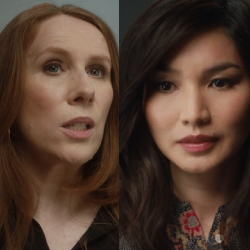 Catherine Tate and Gemma Chan in comedy short: Leading Lady